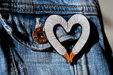 "Load image into Gallery viewer, ""GooseHeart"" Pin by Goosenek"