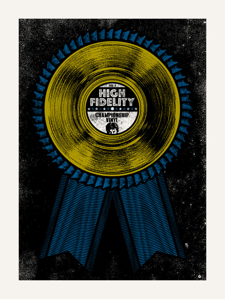 High Fidelity Print by Chris Garofalo