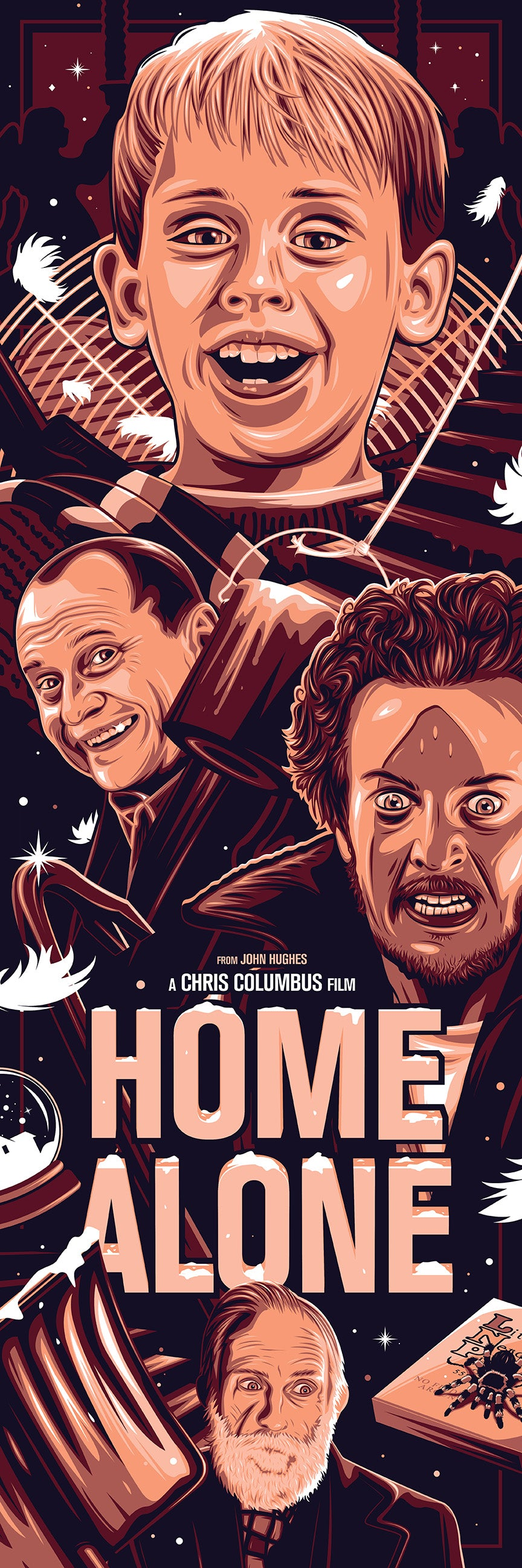 Home Alone Print by Dave Stafford