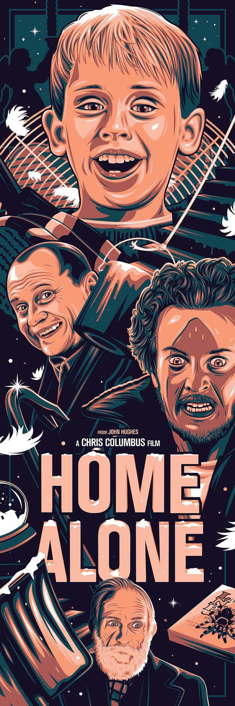 Home Alone Variant Print by Dave Stafford