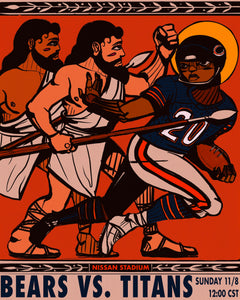 "Game 9: ""Official Titans VS Bears"" by Langston Allston"