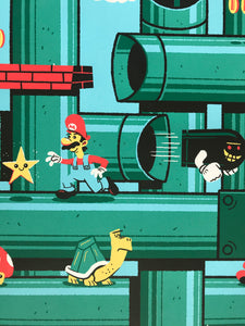 """Super Mario Brothers"" by Ian Glaubinger"