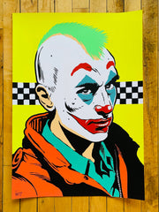 Clown Driver Print by Butcher Billy