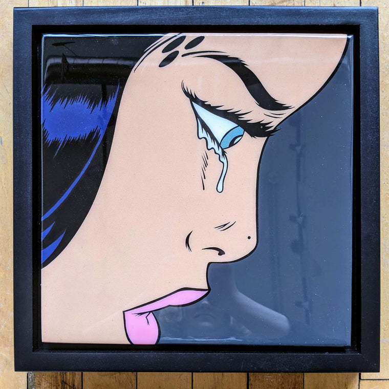Cryin56 Original Wood Cut by R6D4