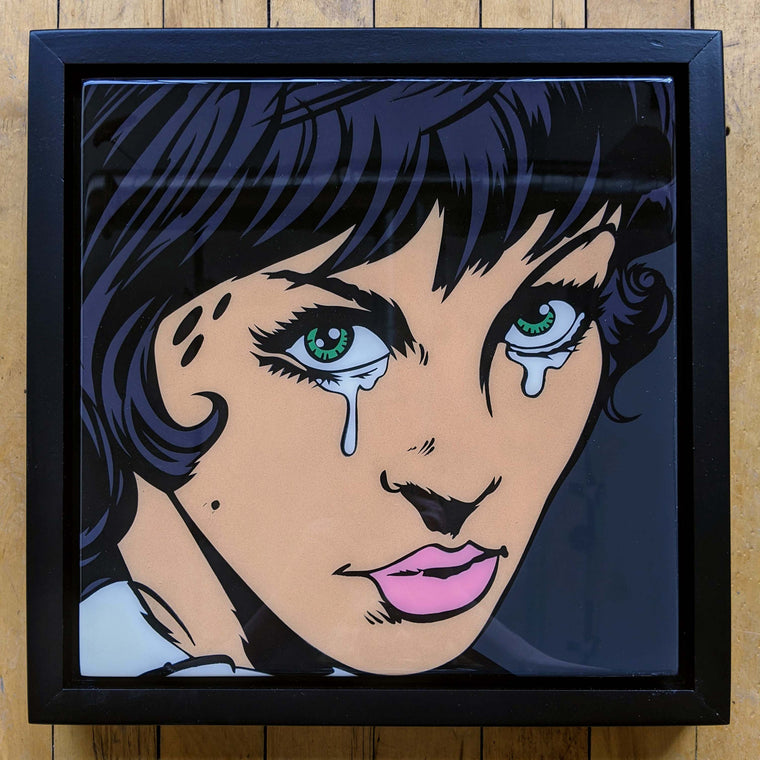 Cryin55 Original Wood Cut by R6D4