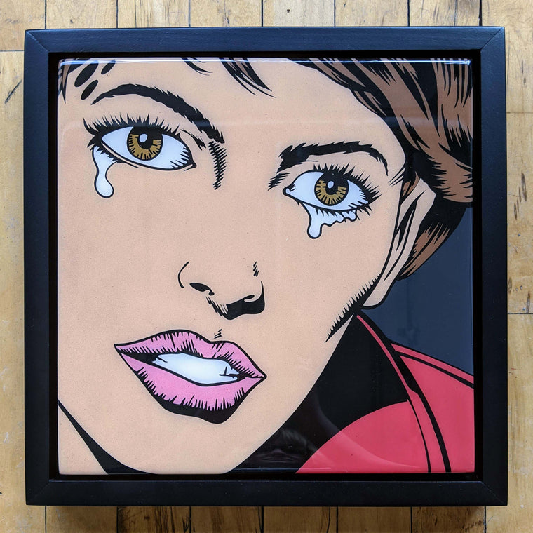 Cryin54 Original Wood Cut by R6D4