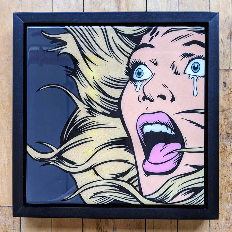 Cryin52 Original Wood Cut by R6D4