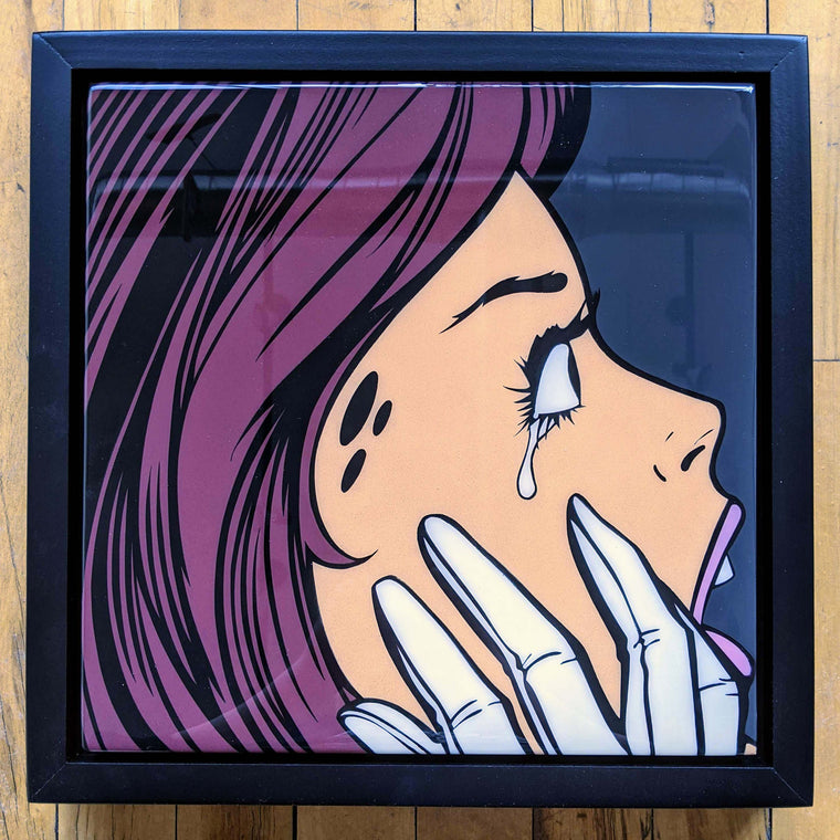 Cryin51 Original Wood Cut by R6D4