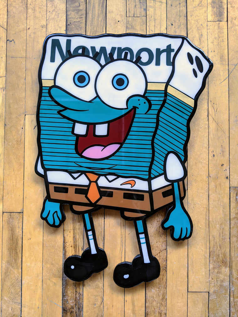 Newport Bob Original Wood Cut by R6D4