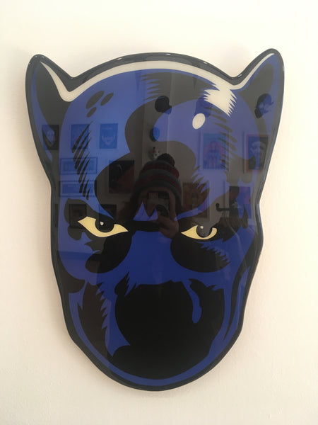 Black Panther Original Wood Cut by R6D4