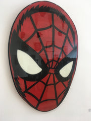 Spiderman Original Wood Cut by R6D4