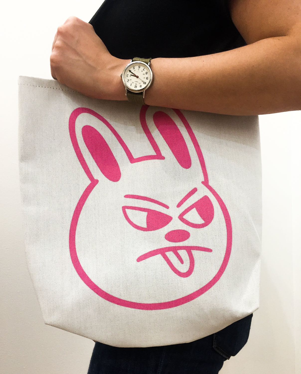 Sour Bunny Tote by Blake Jones