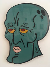 "Load image into Gallery viewer, ""Handsome Squidward"" by R6D4"