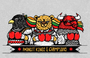 """Amongst Kings & Champions"" by JC Rivera X Zissou Tasseff-Elenkoff"