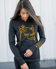 "Load image into Gallery viewer, ""Tagged Up (Gold)"" Sweatshirt by JC Rivera"
