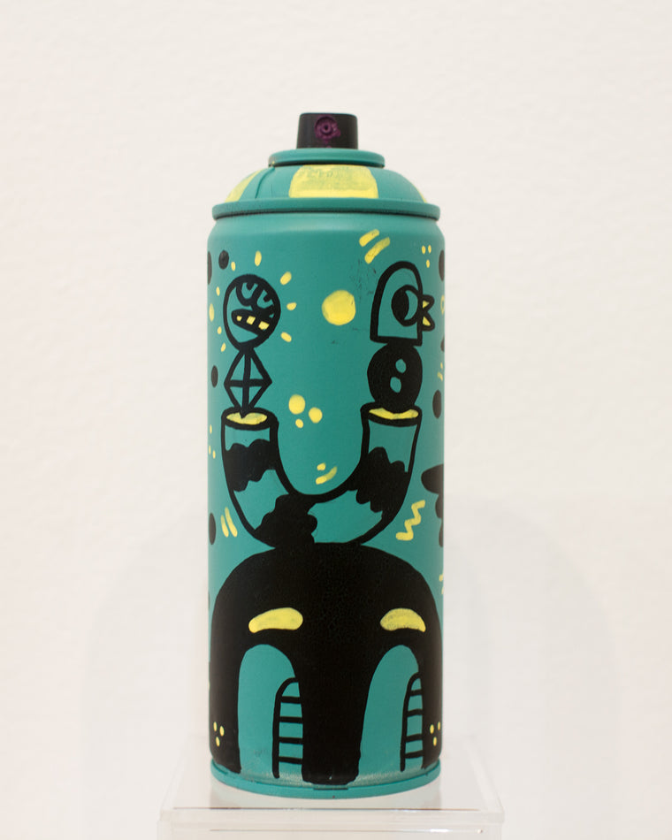 Keep Your Balance Spray Can by Blake Jones