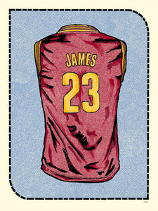 """L. James Jersey"" by Zissou Tasseff-Elenkoff"
