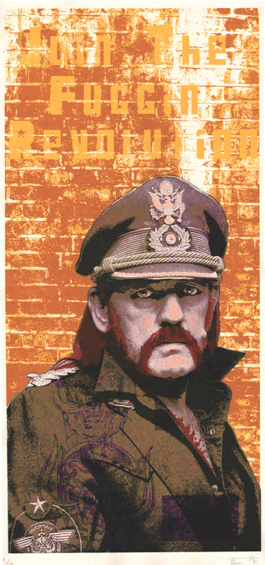 Lemmy Revolutionary Print by Fugscreens Studios