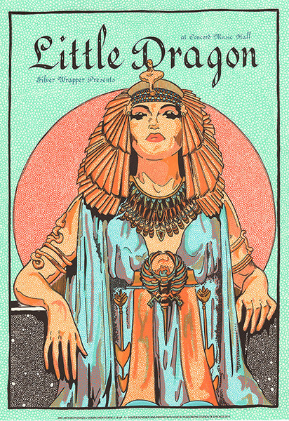 Little Dragon at Concord Music Hall, Chicago 2015 Print