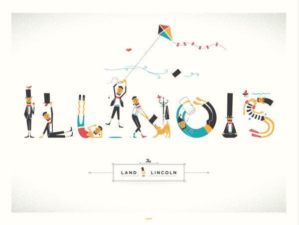 Land of Lincoln by Delicious Design League