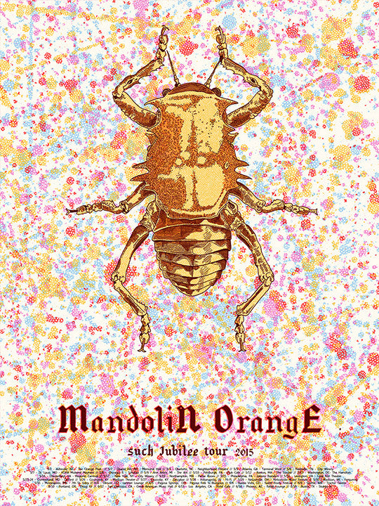 Mandolin Orange Such Jubilee Tour 2015 Print