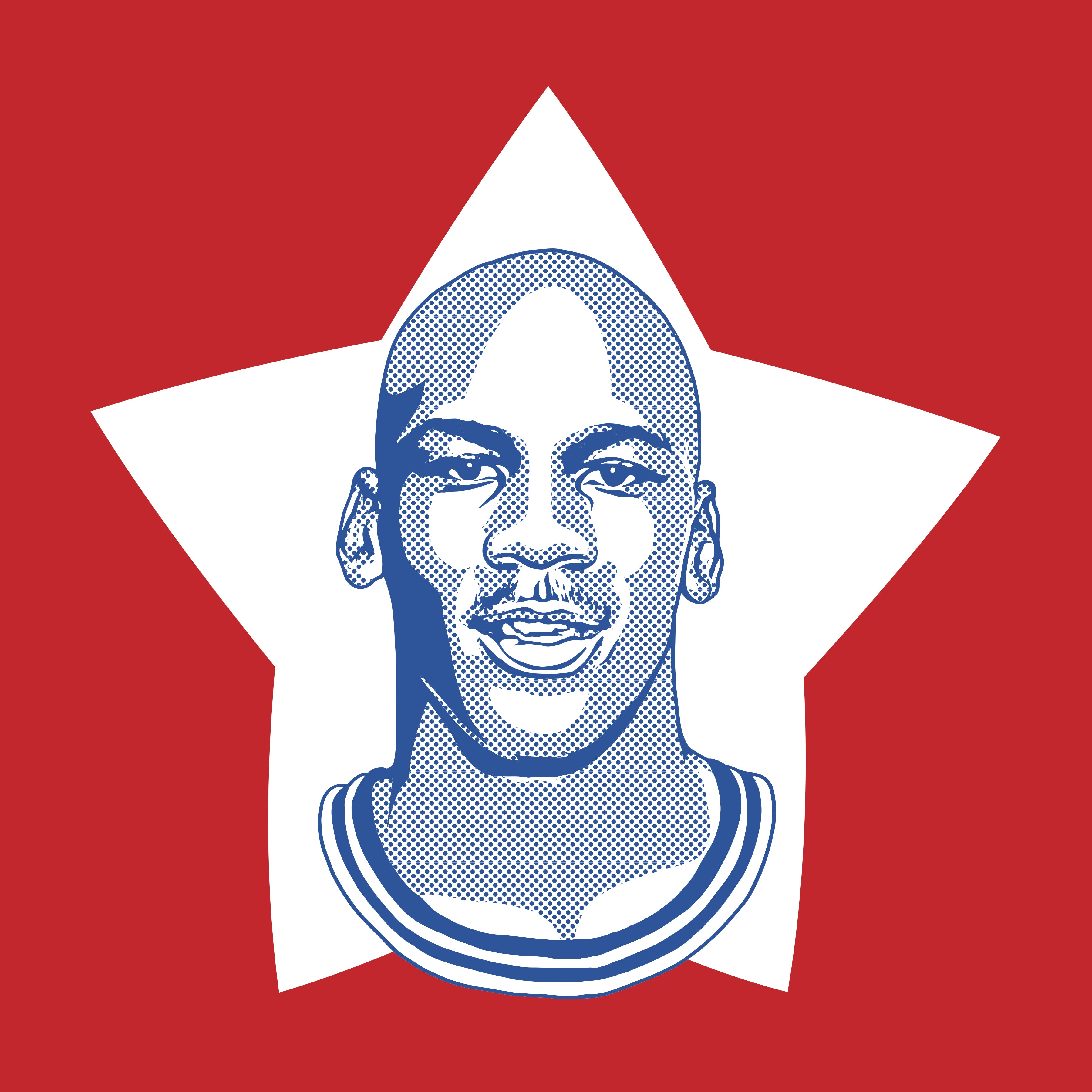 MVP Jordan Print by Adam Shortlidge