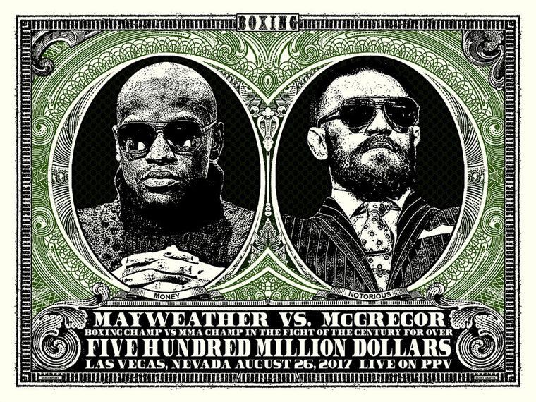 Five Hundred Million Dollars Print by Blunt Graffix