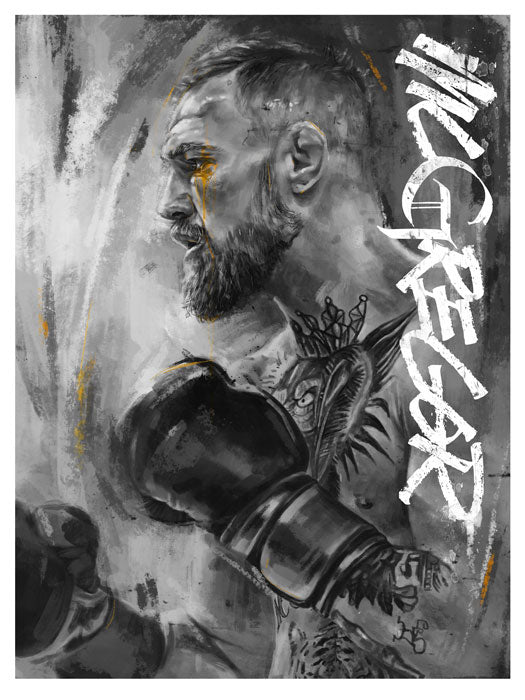 McGregor Print by Robert Bruno