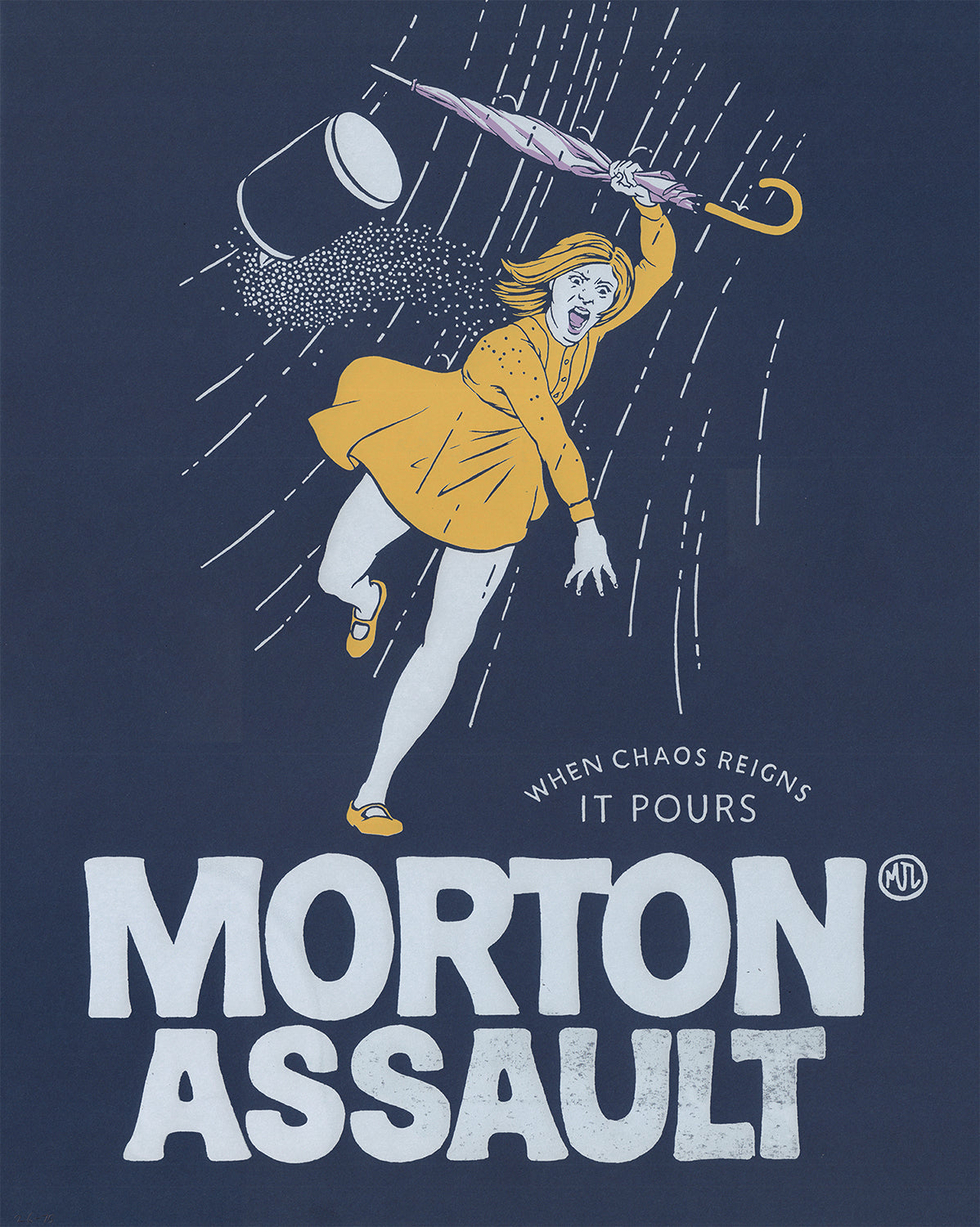 Morton Assault Print by Michael Lauritano