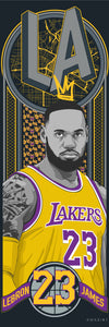 """LeBron James"" by Kwasi81"