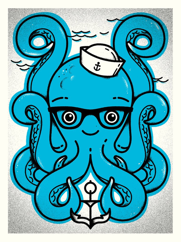 Octopal Print by Delicious Design League