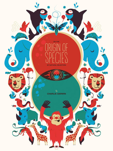 Origin of Species Print by Delicious Design League
