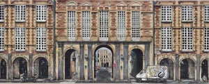"""Place Des Vosges With Hand Embellishments"" by PizzaInTheRain"