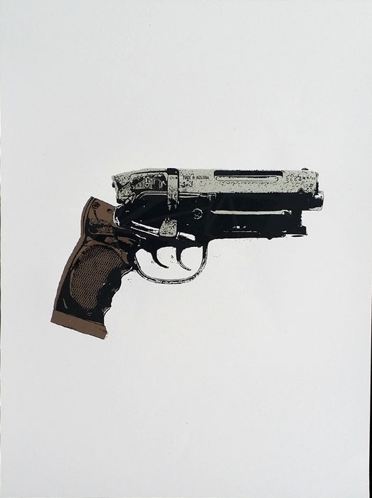 PKD Blaster // Loaded Guns 2 Exclusive Print by Francisco Ramirez