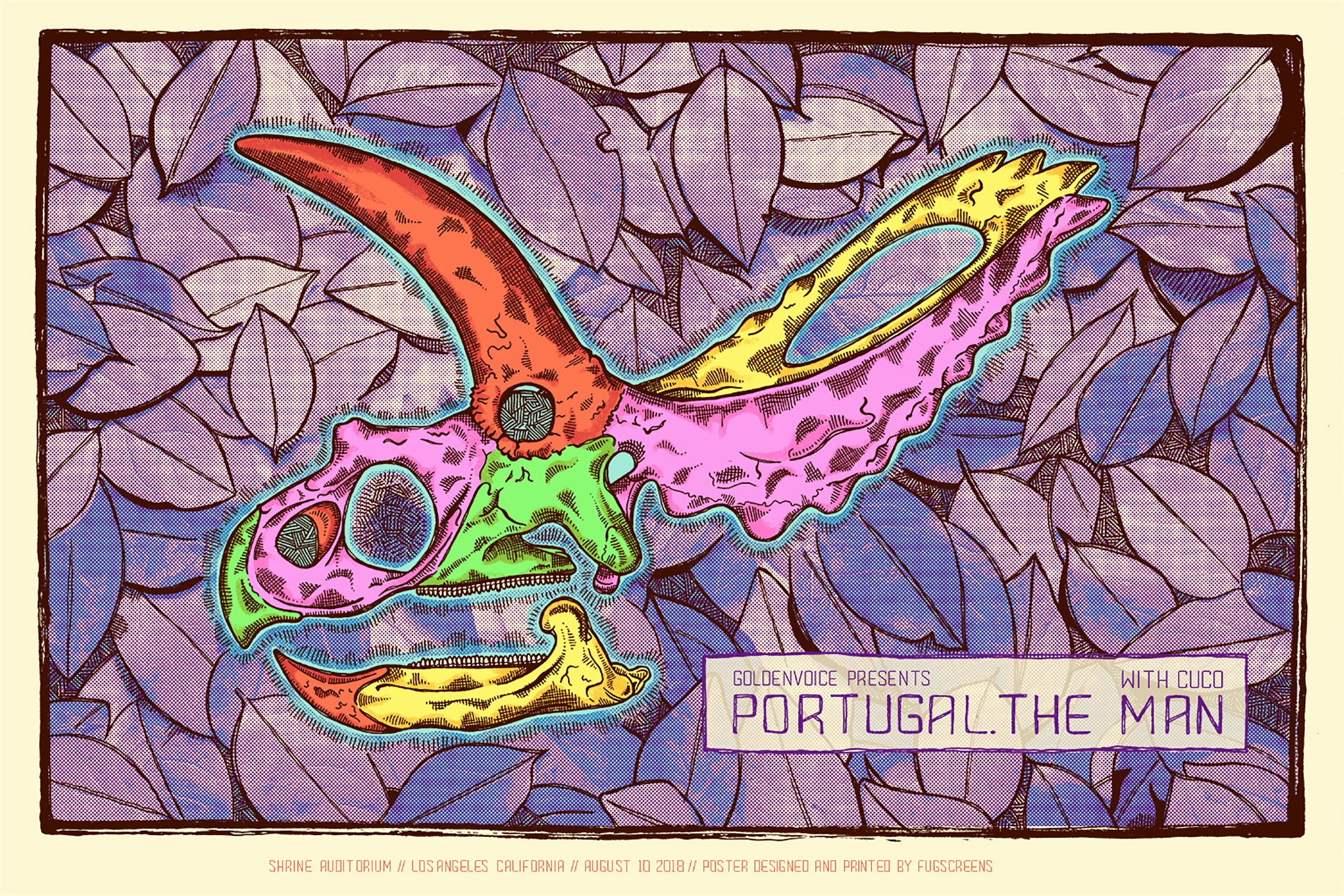 Portugal the Man by Fugscreens Studios
