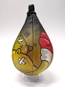 """100 MPH"" Speed Bag by JC Rivera"