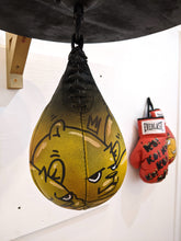 "Load image into Gallery viewer, ""100 MPH"" Speed Bag by JC Rivera"