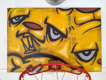 "Load image into Gallery viewer, ""Slam Dunk"" Basketball Hoop by JC Rivera"