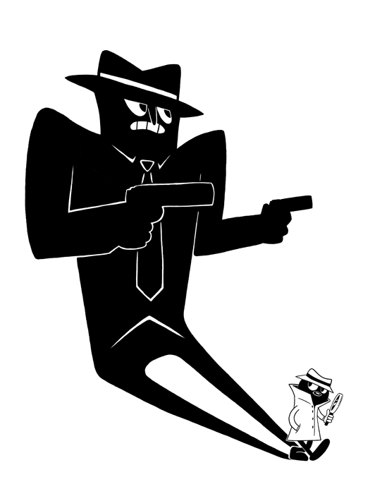 Private Eye // Loaded Guns 2 Exclusive Print by Blake Jones