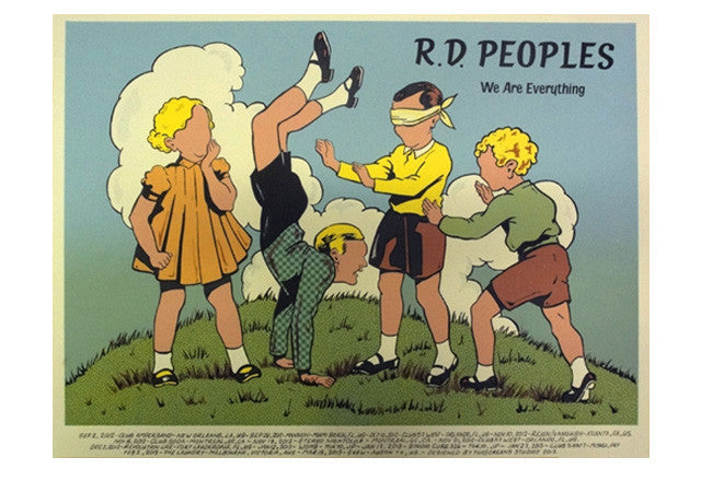 R.D. People's Poster-Tour 2012