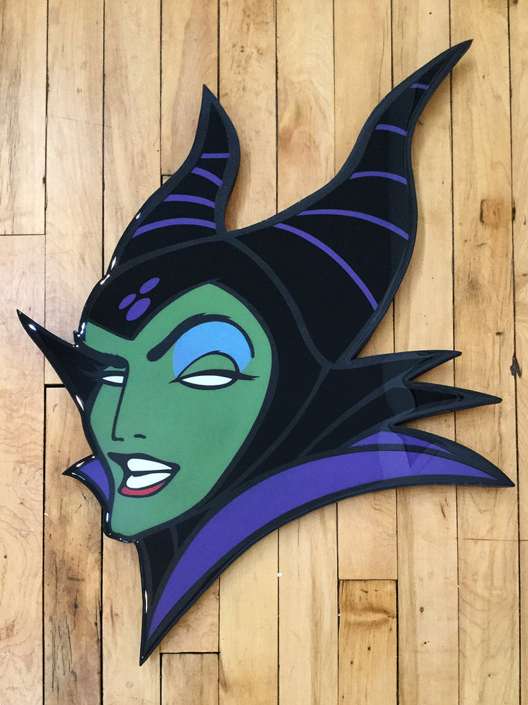 Maleficent Original Wood Cut by R6D4