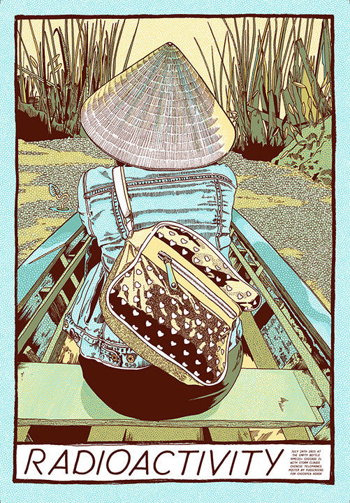 Radioactivity at the Empty Bottle, Chicago 2015 Print by Zissou Tasseff-Elenkoff