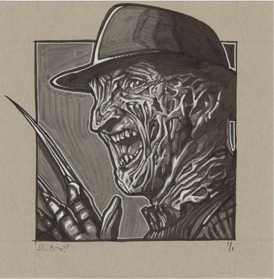 Freddy Krueger Original by Robert Bruno