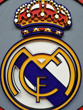 "Load image into Gallery viewer, ""Real Madrid CF"" by Isabelle Tasseff-Elenkoff"