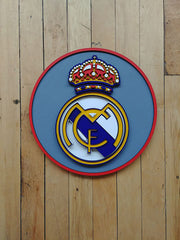 Real Madrid CF Plaque by Isabelle Tasseff-Elenkoff