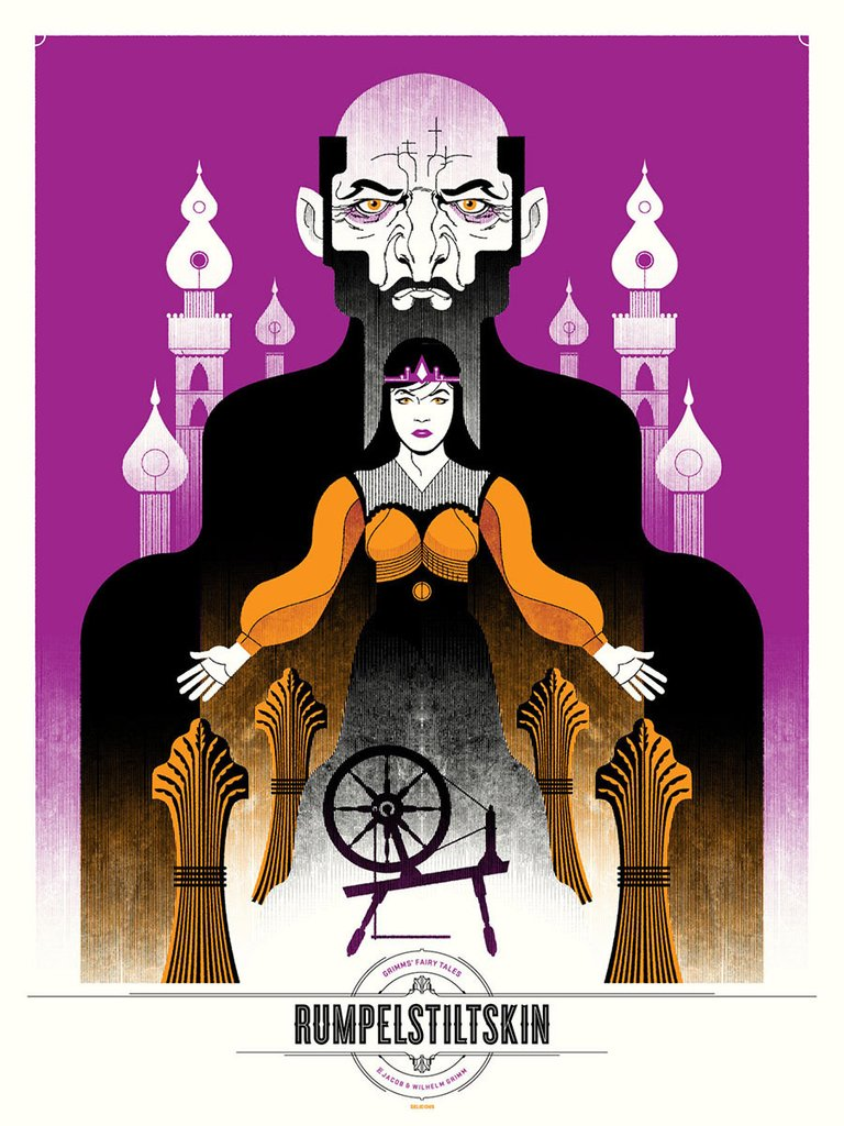 Rumpelstiltskin Print by Delicious Design League
