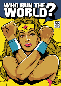 Run the World Print by Butcher Billy