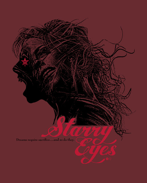 Starry Eyes Print by Chris Garofalo