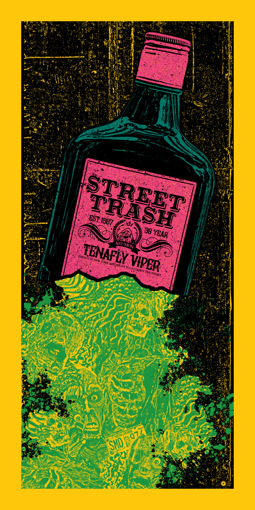 Street Trash Print by Chris Garofalo