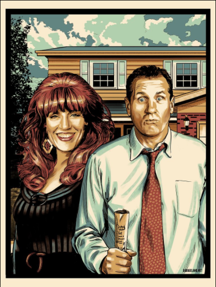 Married with Children Print